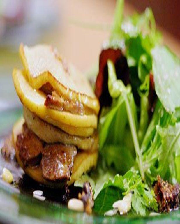 Escalope de foie gras aux pommes de Lorraine