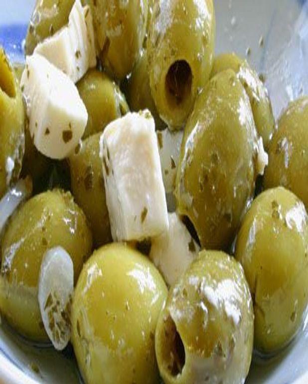 Feta aux olives