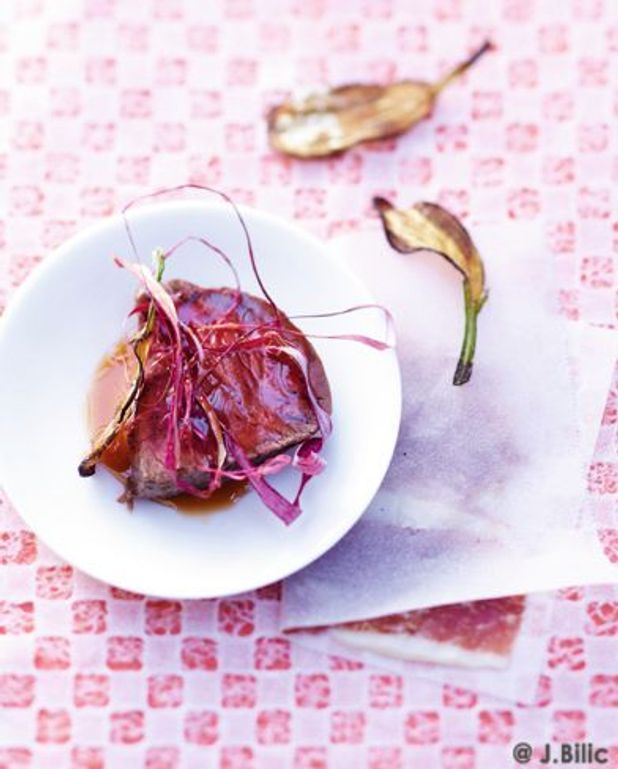 Filet de boeuf et jambon Bellota-Bellota