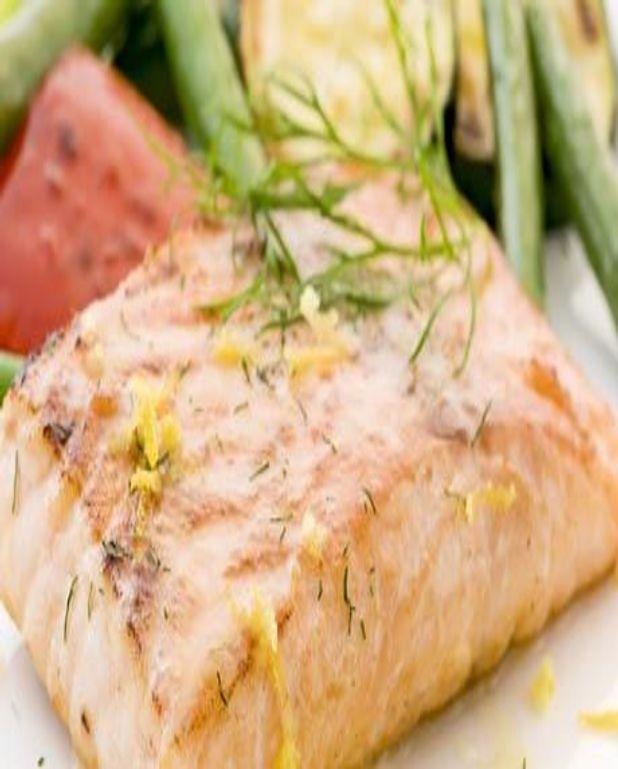 Filet de saumon au barbecue