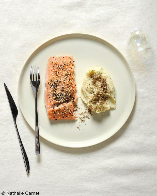 Filet de saumon aux épices