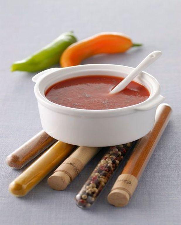 Filets de poulet, sauce tomate et basilic