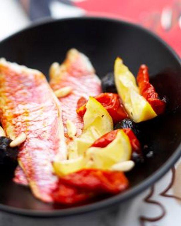 Filets de rougets méditerranéens