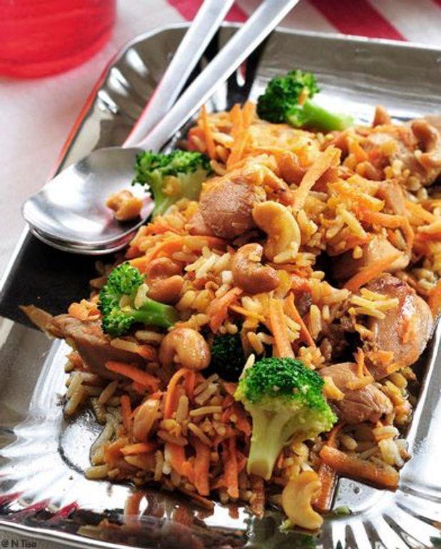 Filets sautés aux légumes façon thaïe