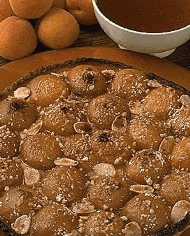 Flan d'abricots Bourdaloue