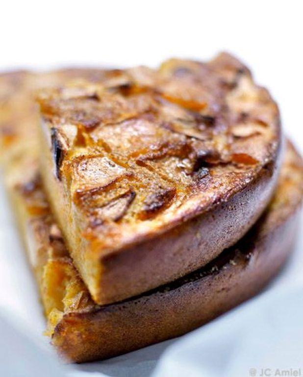 Flan de butternut à la pomme