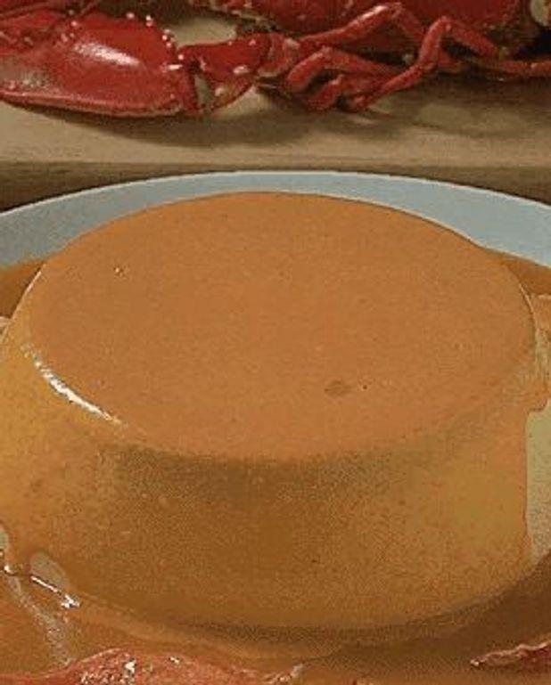 Flan de homard
