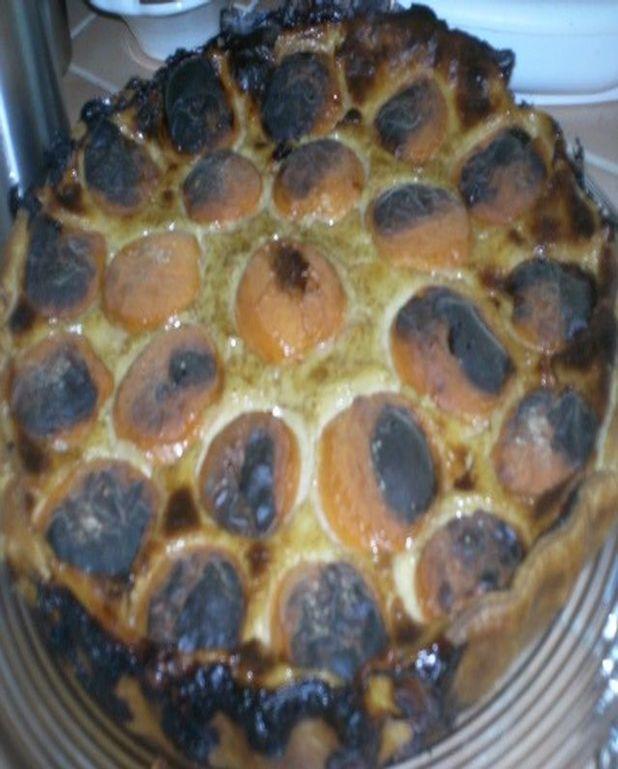 Flan parisien aux abricots