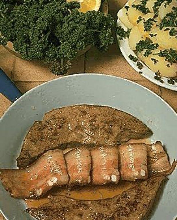 Foie de veau au bacon