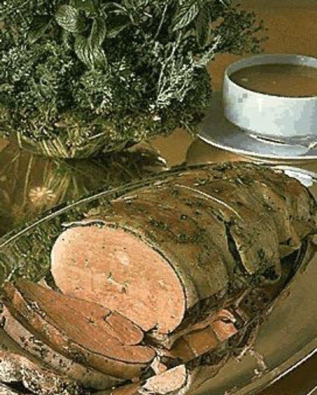 Foie de veau aux herbes