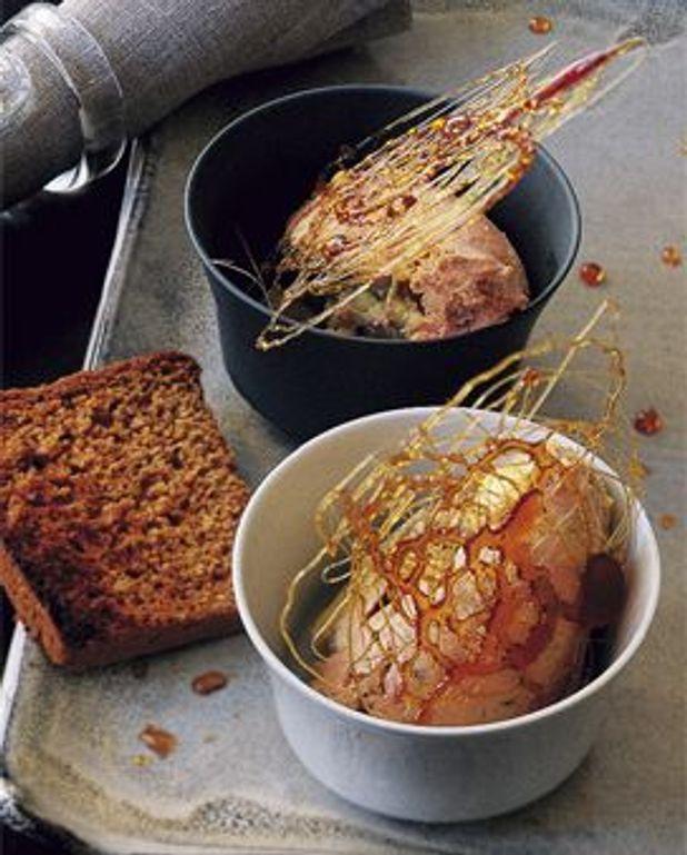 Foie gras au caramel poivré