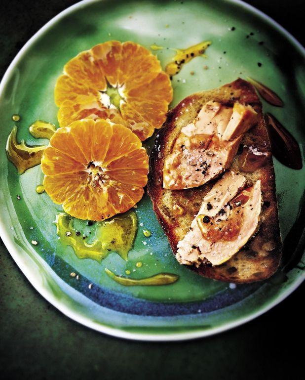 Foie gras aux clémentines