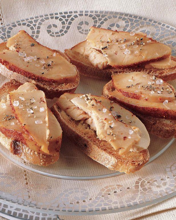 Foie gras cru au sel et au piment d'Espelette
