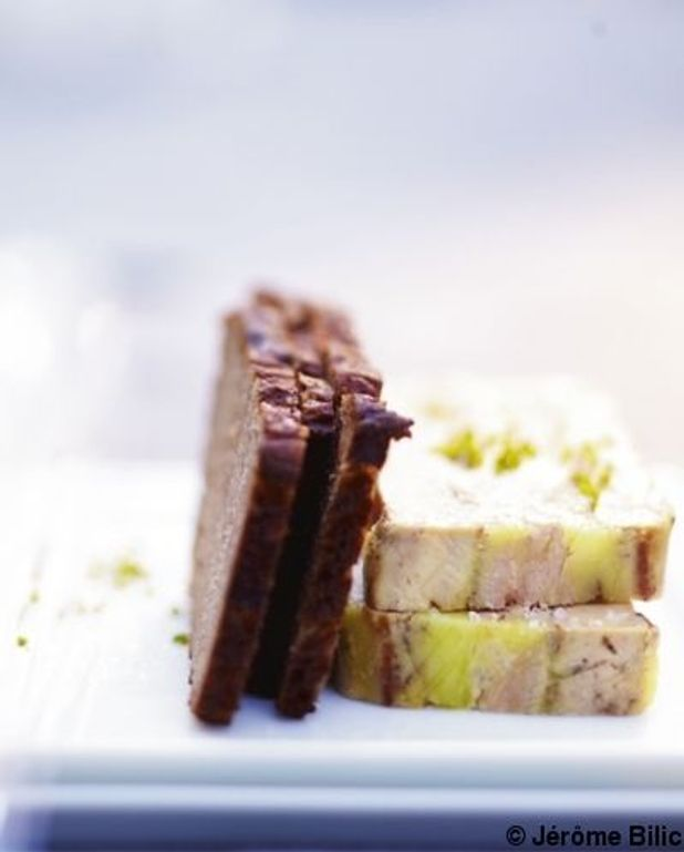 Foie gras minute aux poires