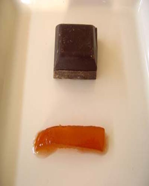 Fondant chocolat-kumquats