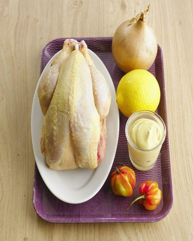 Fricassée de poulet à l'estragon