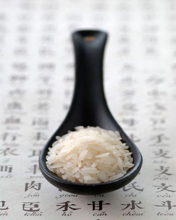 Fricassée de riz thaï et blancs de volaille