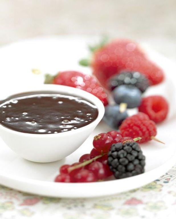 Fruits chocolatés