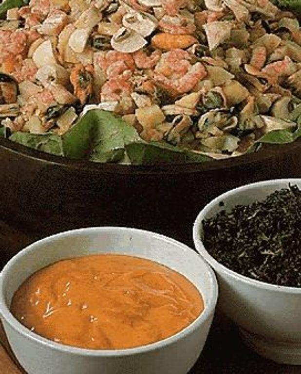 Fruits de mer en salade