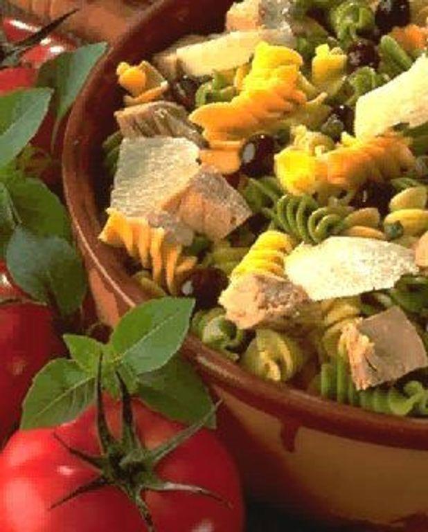 Fusilli  en salade