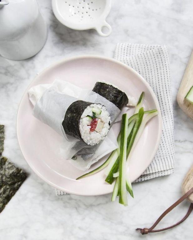Futomakis tofu et gingembre