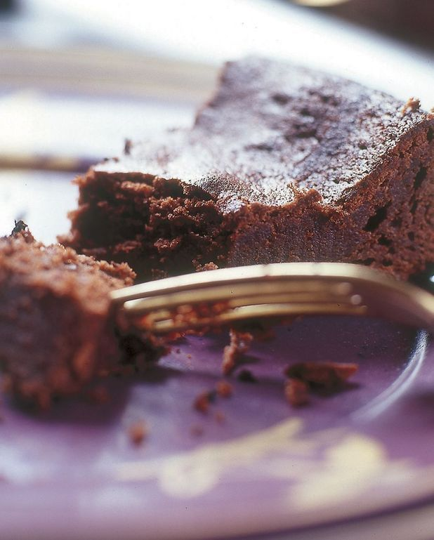 Gâteau au chocolat à la crème de riz