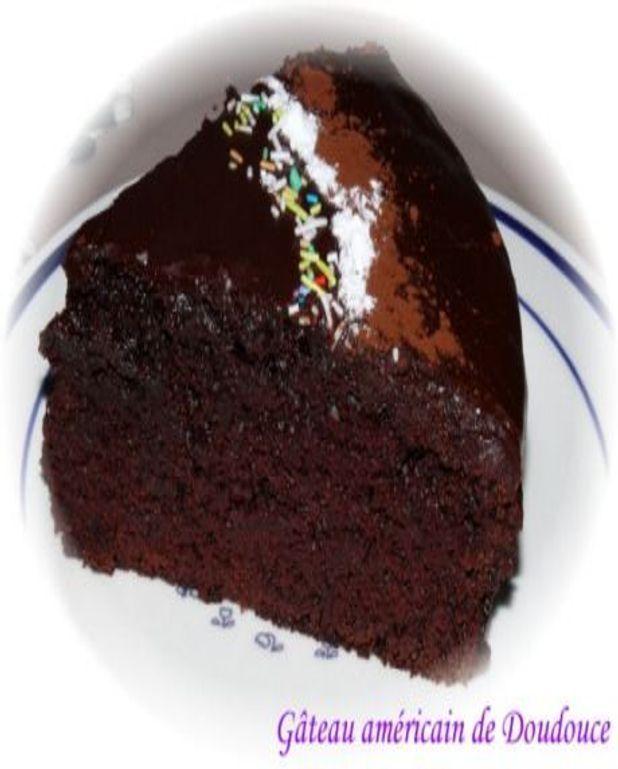 Gâteau au chocolat fondant et moelleux