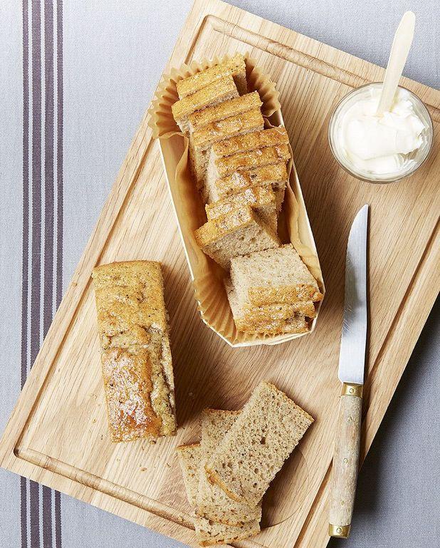 Gâteau aux épices et à la crème
