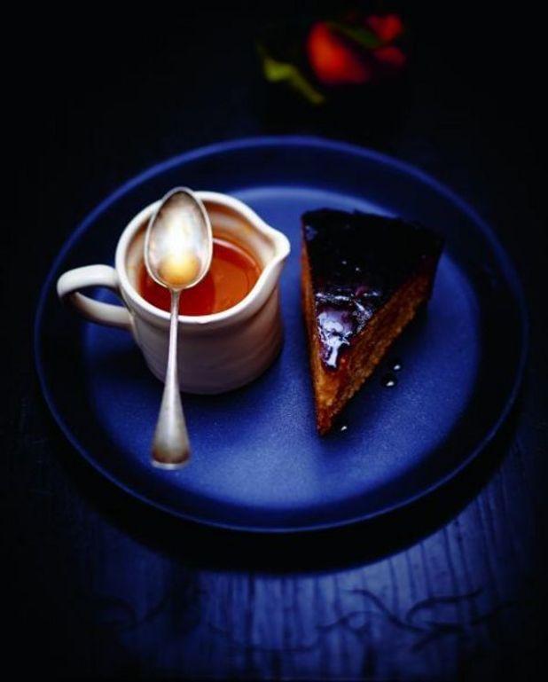 Gâteau caramélisé aux oranges