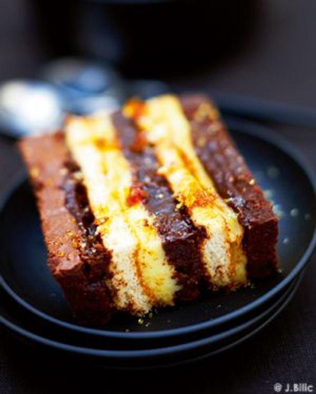Gâteau chocolat-crème de marrons