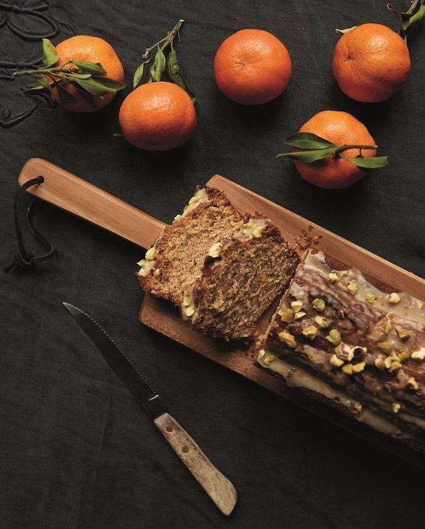 Gâteau clémentines et pistaches
