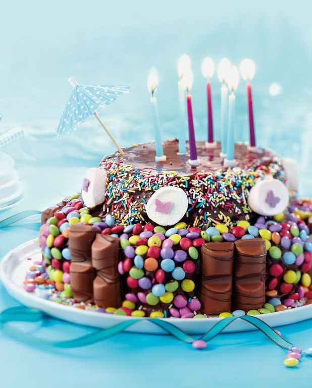 Gâteau d'anniversaire chocolat au micro-ondes