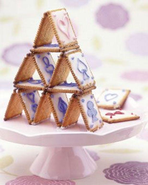 Gâteau de carte