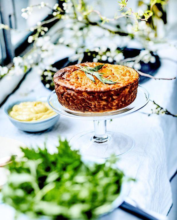 Gâteau de crabe, mayo estragon