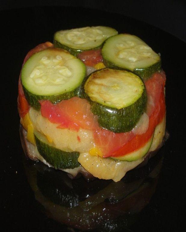 Gâteau de légumes