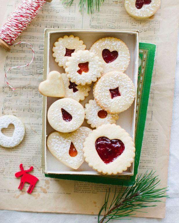 Gâteaux de Noël à la confiture Thermomix