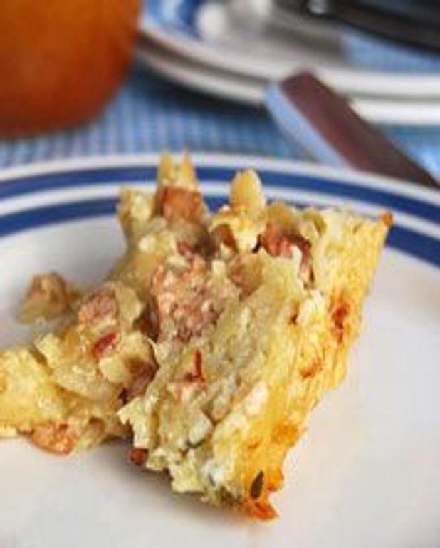 Gâteau de pommes de terres râpées