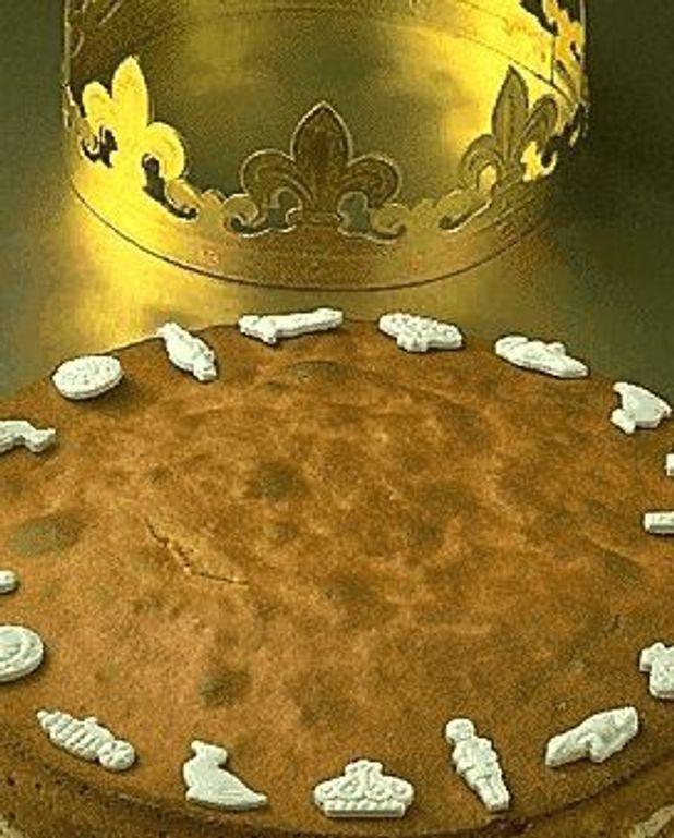Gâteau des rois au miel