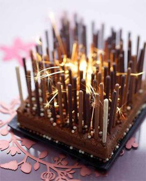 Gâteau hightech