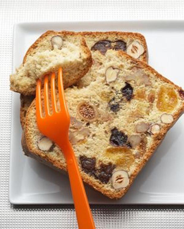 Gâteau ivre aux fruits secs