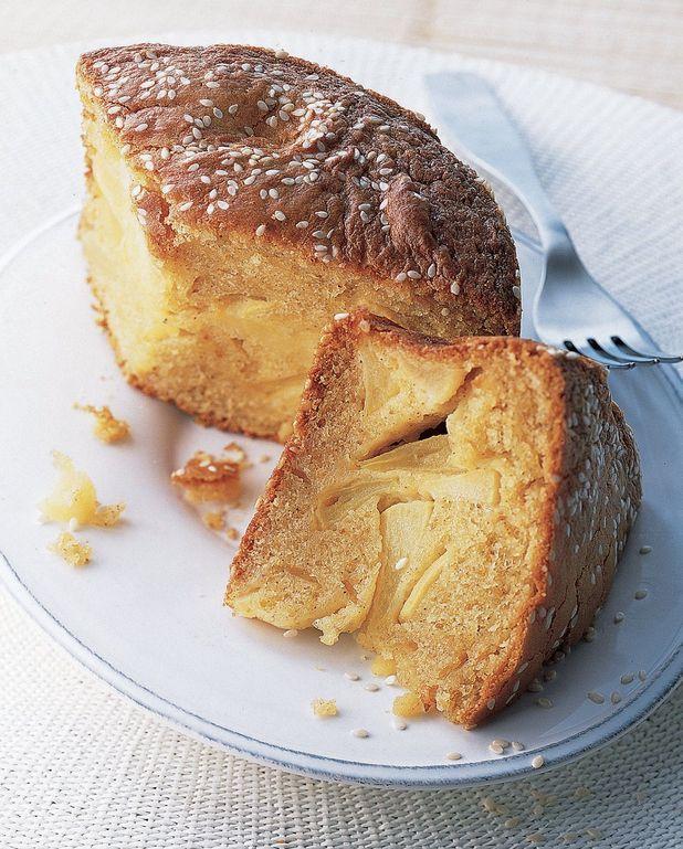 Gâteau moelleux et épicé aux pommes