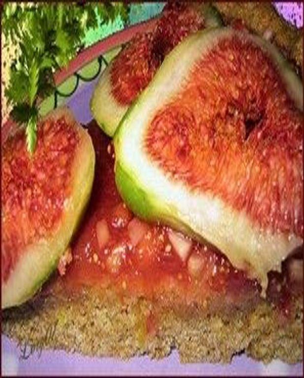 Gâteau sublime aux figues