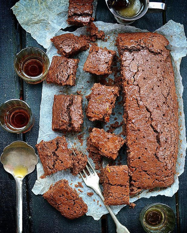 Gâteau tout choco de Massimo Bottura