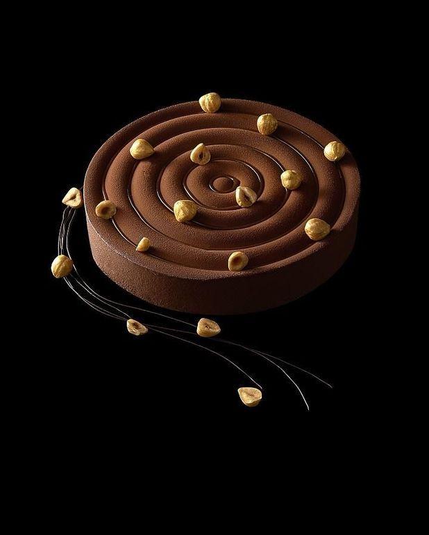 Gâteau zen gianduja yuzu