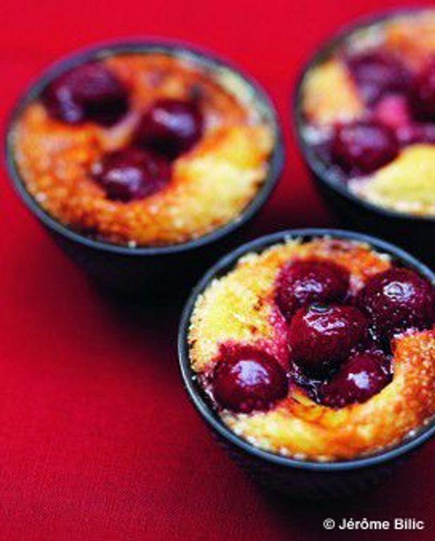 Gâteaux aux griottes
