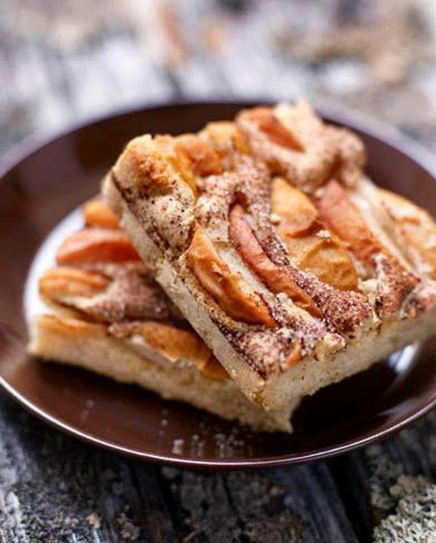 Gâteaux pommes-cannelle