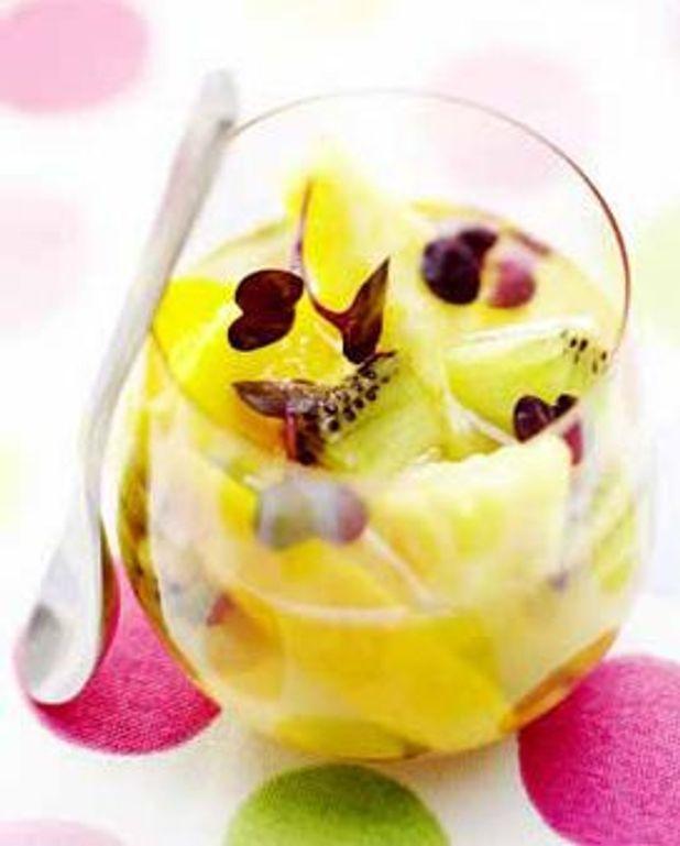 Gelée de fruits exotiques