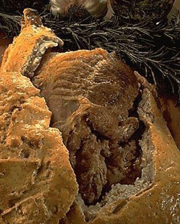 Gigot d'agneau croûte de sel