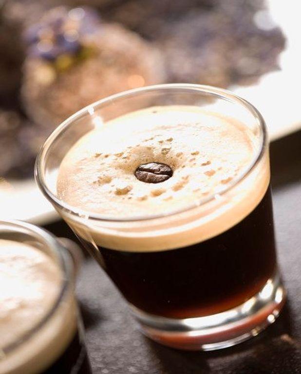 Glace à la ricotta au café