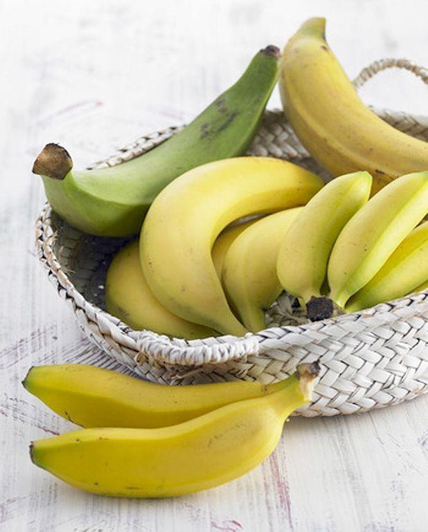 Glace banane et fraise